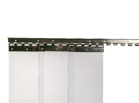 Bændelgardin til alle formål - inkl. beslag til montering  - bændelgardin, truckgardin, pvc gardin, romgummi, rg,