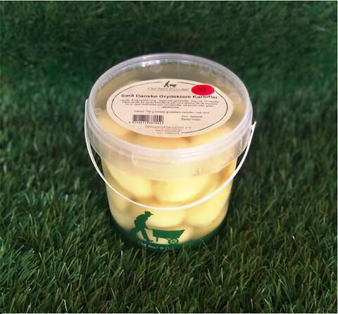 Små Danske grydeklare kartofler – 700 g spand fra Olaf Sand & Co.  - Små Danske grydeklare kartofler – 700 g spand fra Olaf Sand & Co.