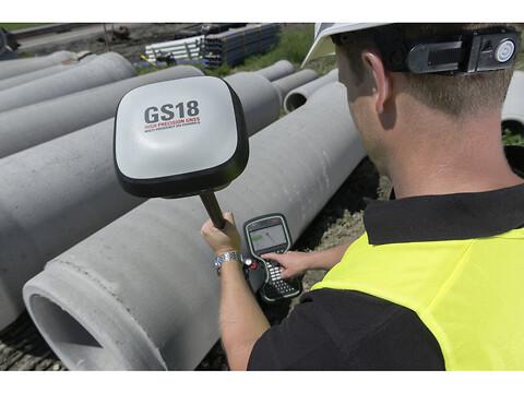 Verdens raskeste GNSS RTK-rover - Leica GS18T