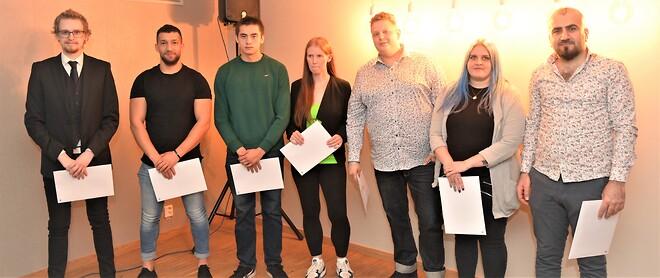 Ställare vid Sveriges Bästa Industriskola