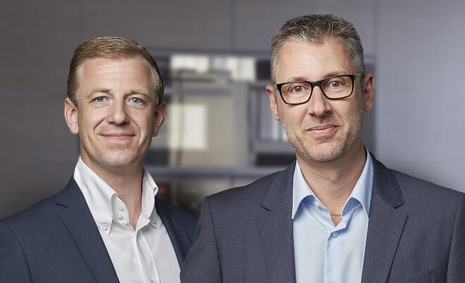 Niels Poulsen CSO. og Michael Jacobsen, CEO.