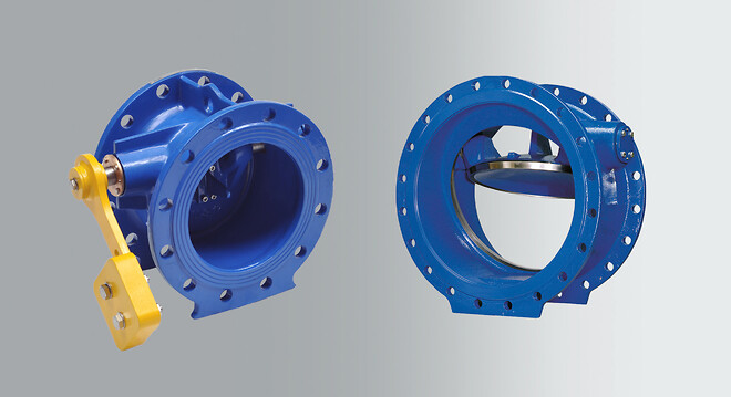 Tilting disc check valves from AVK