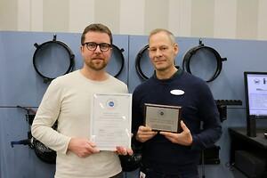 Morten Sjursen och Sten Hedlund