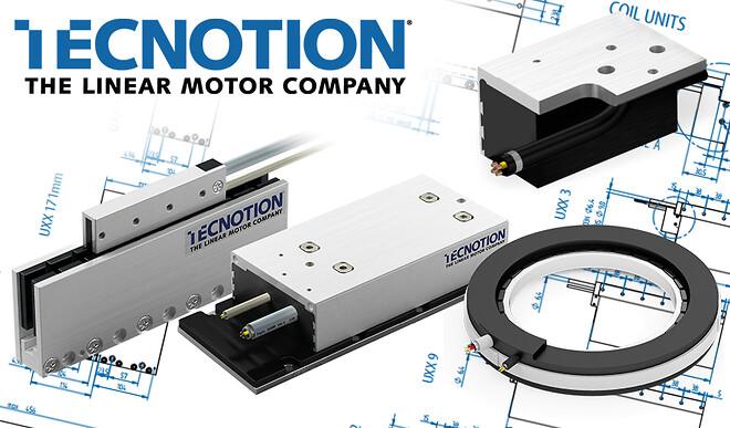Acumo erbjuder linjärmotorkomponenter från Tecnotion