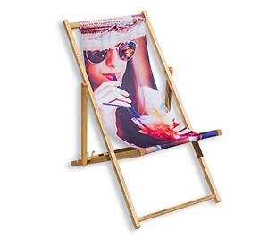 Strandstol med eget logo