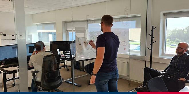 Vores innovationscenter tager form