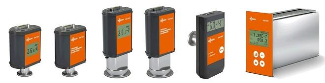 Busch VACTEST analoge og digitale sendere til forskellige trykområder, samt en VACTEST mobilmåler, som også fås i flere versioner til forskellige trykområder