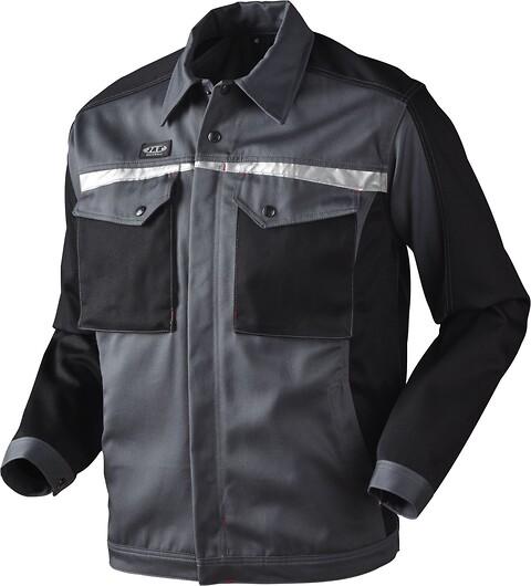 Arbejdsjakke, 10205 - grå/sort