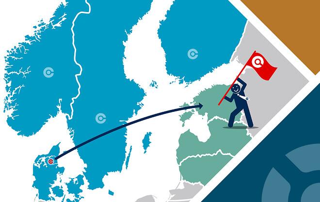 CORE-emt rykker ind i Baltikum