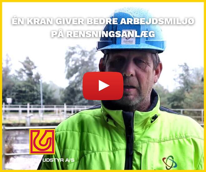 Guldborgsund Forsyning - Davit kran - Fyns Kran Udstyr