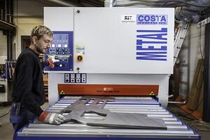 Ollerup Maskinfabrik sliber og afgrater