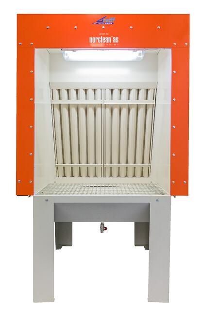 Sprøyte- og vaskeskap htd fra Norclean AS