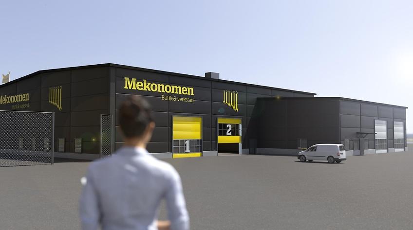 Här öppnar Mekonomen ny butik och verkstad