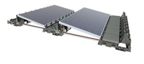 Falx: PV-panelmonteringssystemet med den lave vægt - Flamco introducerer Flamco Falx