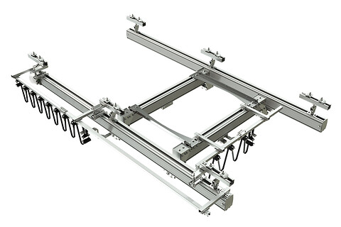 Movomech Mechrail™ lättraverssystem i aluminium