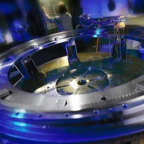 Indvändig kuggskärrning - Största diameter Ø 2600 mm