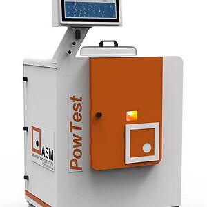 Nya PowTest för pulveranalys