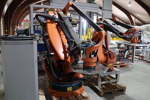 KUKA KR 180 2 PA 2008 - KUKA Palleteringsrobot