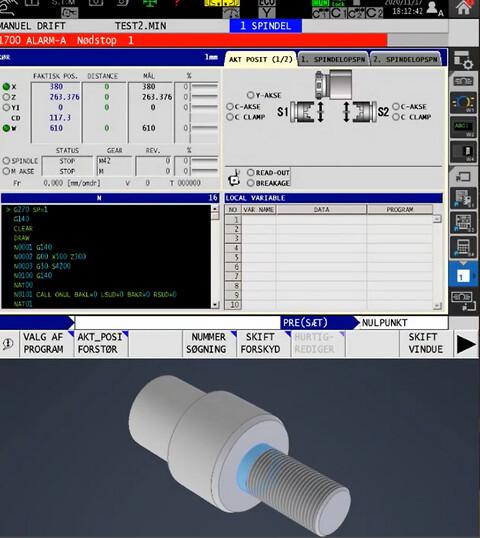 Flextek Applikation OKUMA IGF 1 - Flextek Applikation OKUMA IGF 1