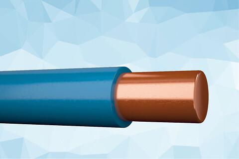H07V-U 450/750 V blyfri PVC installationsledning 70°C