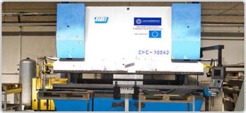 Gipo tilbyder laserskæring, cnc bukning og robotsvejsning fra Polen