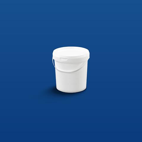 Plastspand EZE1180 - 1180 ml. - hvid