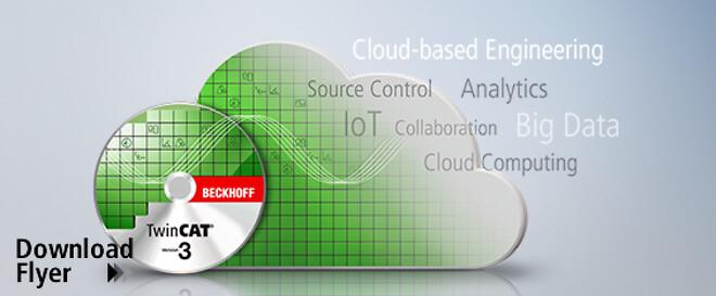 Med TwinCAT Cloud Engineering kan man som led i Industri 4.0 betjene og vedligeholde globalt fordelte styringssystemer eksternt.