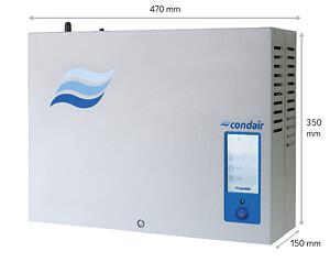 Ny, kompakt och effektiv ångbefuktare med RO-vatten.