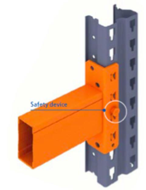 Pallereol bjælker med integreret sikringspind fra MAS-HØVIK
