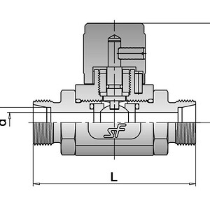 Compact Ball Valve draw