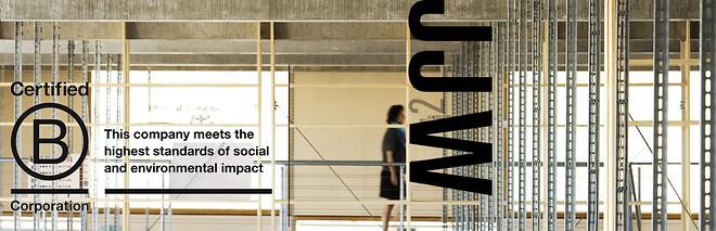JJW Arkitekter B Corp Bæredygtighed Byggeri Arkitektur Tegnestue Certificering Klima