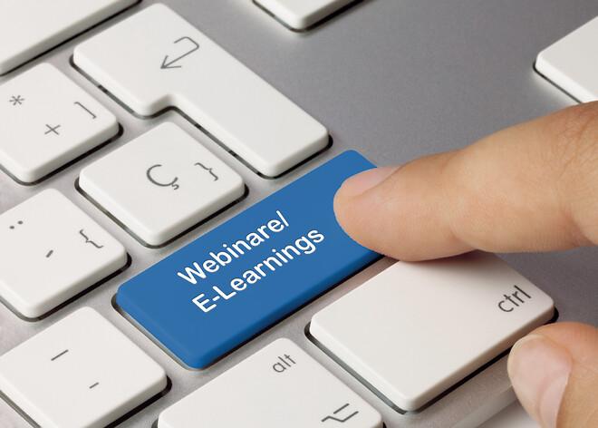 Webinar, E-learnings, utbildningar