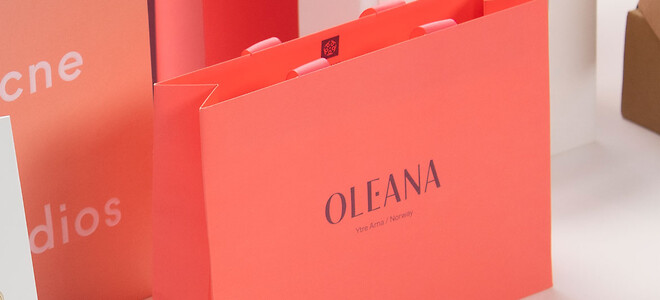 Papirspose Papirpose med eget tryk   Oleana Scanlux Packaging