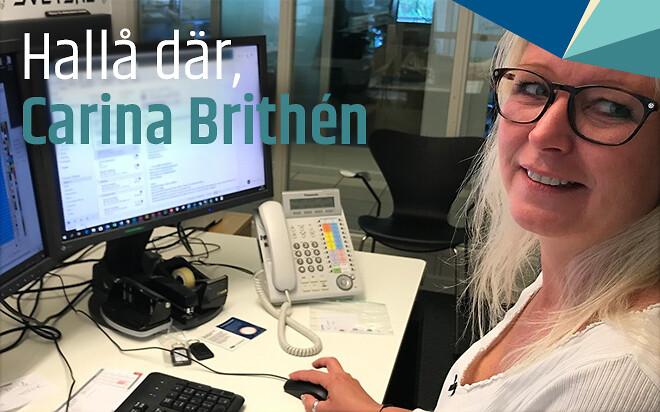 Carina Brithén, Grafiker på Formac, svarar på frågor om sin bakgrund, rollen på Formac, utmaningar, och hur det går till att ta fram tryckgrafik.