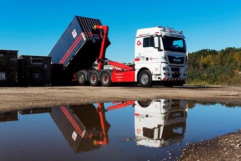 DSV Transport tilbyder container- og affaldsløsninger