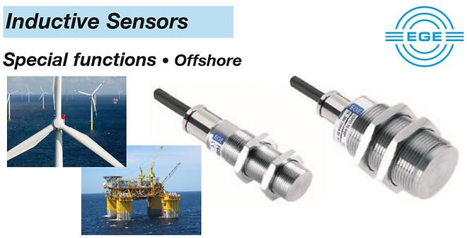 Induktiv sensor til offshore brug.
