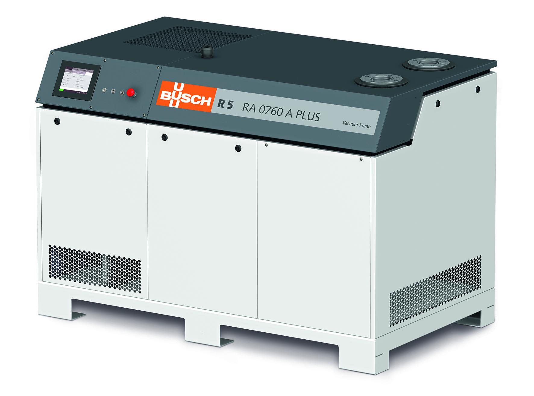 Ny lamelvakuumpumpe med trykregulering - industri 4.0 ready