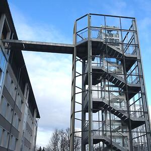 Specialudviklet elevator til modul og pavillonbyggeri | HYDRO-CON A/S