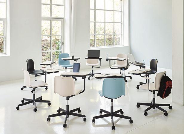 HOWE introducerer stol til aktive læringsmiljøer - under NeoCon i ...
