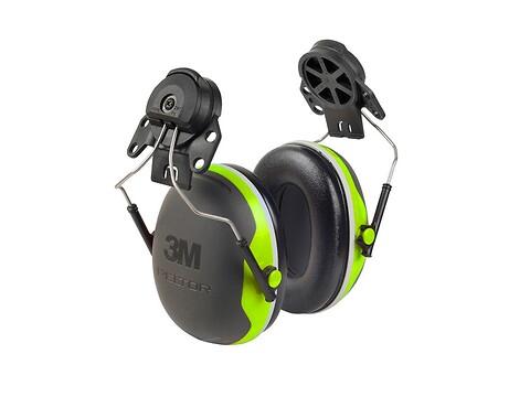 Høreværn peltor X4 - lime f/hjelm - 3M