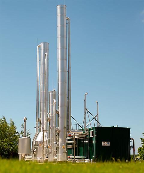 Vi har fokus på biogas