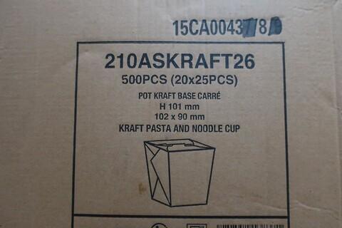 500 stk. pastaboks - type 210ASKRAFT26