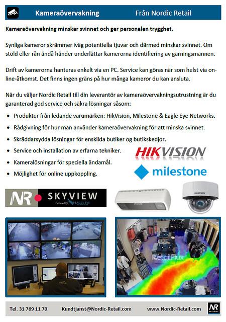 Nordic Retail - Kameraövervakning