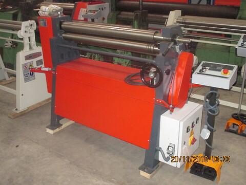 Ny Akyapak pladevalse 1050x3MM sælges af stålspecialisten