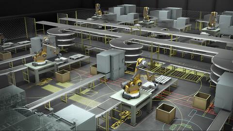 Autodesk Inventor Factory Design - Autodesk Inventor Factory Design kursus hos Invent A/S
