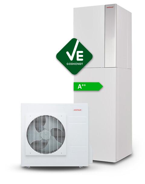 Weishaupt Luft/vand Varmepumper - Weishaupt, varmepumpe, luft/vand