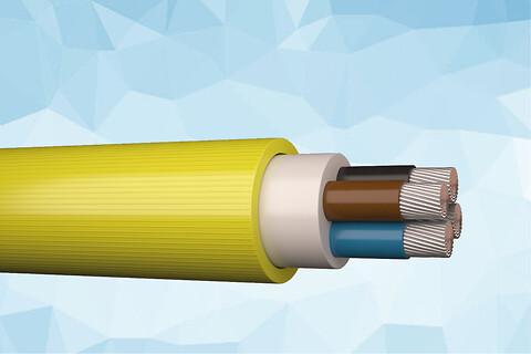 QWPK 750/750 V slidstærkt gummikabel