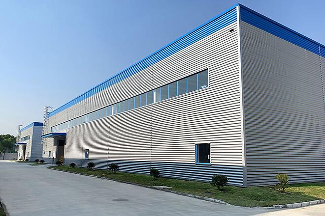 Den nya byggnaden på Polykemi Compounds i Kunshan, Kina, möjliggör installation av ytterligare minst fem produktionslinjer.