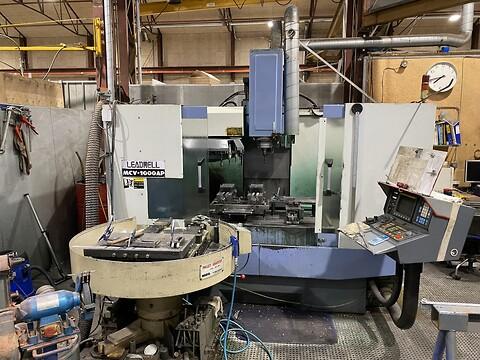 Brugt Leadwell bearbejdningscenter type MCV-1000AP sælges