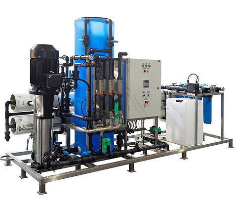 RO-HC-3000-G - High Capacity RO anlæg